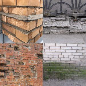 Разрушение стен под действием влаги